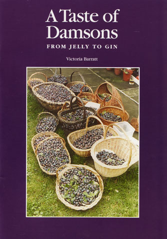 damson recipe book by vicki barrat