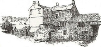 pencil drawing of cowmire hall