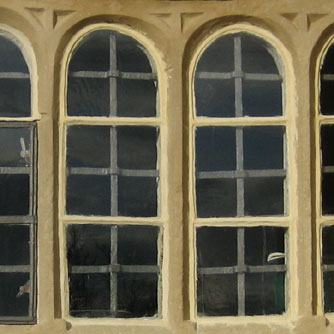 windows at cowmire hall
